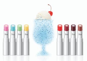 最IN奶甜冰淇淋蘇打唇! 極嫩唇、超透光、雙倍沁涼 一抹極亮翹嘟嘟