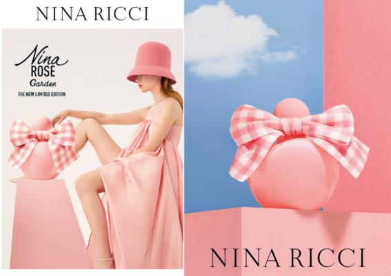 春日正好 一起到花園嬉戲吧! NINA RICCI玫瑰花園淡香水 限量上市