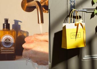 歐舒丹讓你在家購物超安心!防疫新生活對策:清潔‧消毒·再擦上護手霜!