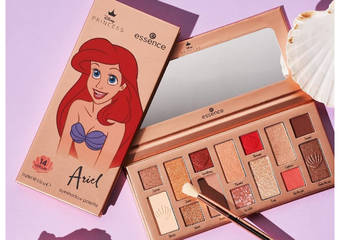 Disney控必收! POYA寶雅引進限量彩妝  小美人魚、白雪公主 專屬公主色「眼影盤」