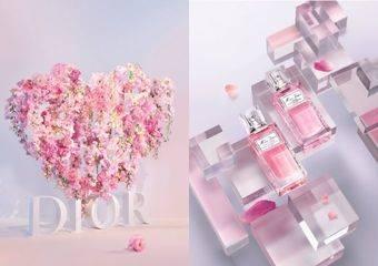 2021年七夕情人節 《Miss Dior漫舞玫瑰髮香噴霧》全新登場 限量「花漾愛戀限定包裝服務」