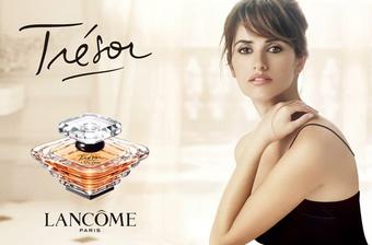 [報導] LANCOME TRESOR璀璨香水20周年 新任璀璨代言人──潘妮洛普克魯茲Penelope CRUZ重新詮釋
