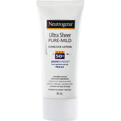[報導] 即擦即有效 抗UV就是比別人快一步 露得清溫和全護輕透防曬乳 敏感肌膚也能安心使用