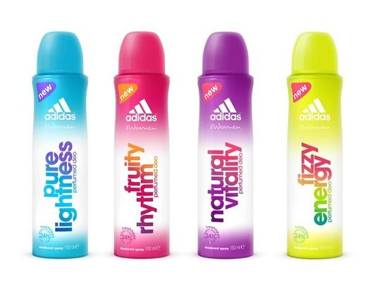 [新品] adidas愛迪達【女用香體噴霧】四種香氣展現四種女性香氛魅力