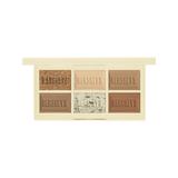 玩轉色彩迷你眼彩盤#白巧克力餅乾